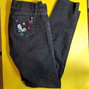 MARIPLY blue jeans heart and design Jr 13
